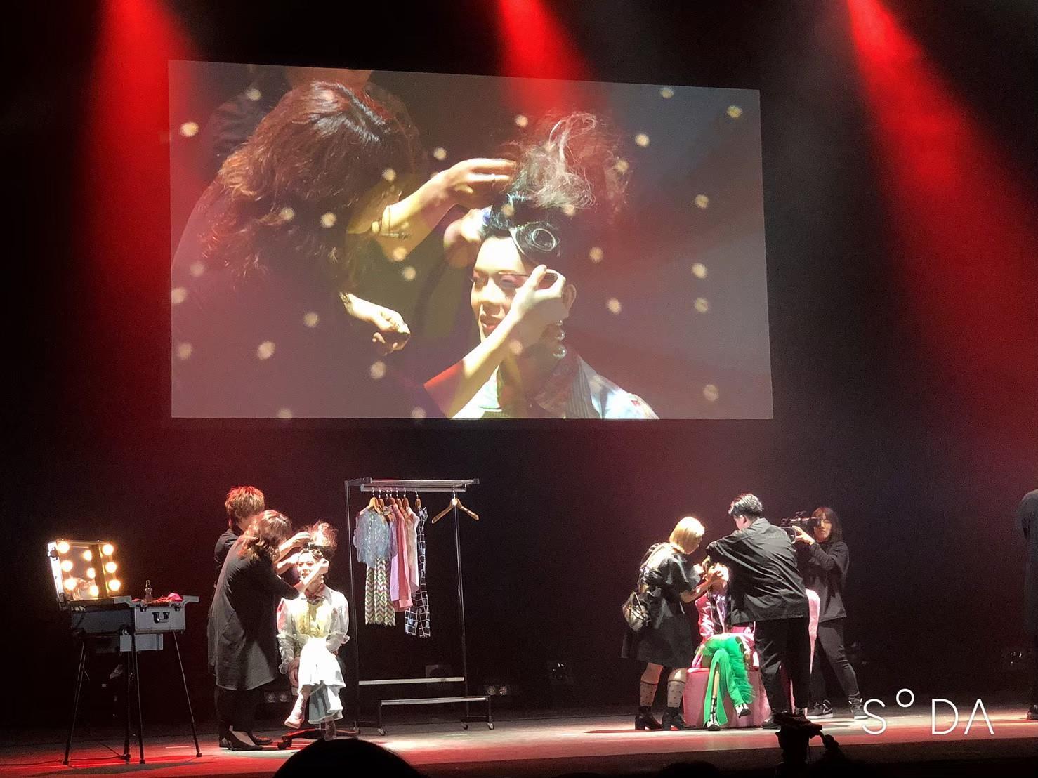 日本ヘアデザイン協会のヘアショーに毎回参加しています。