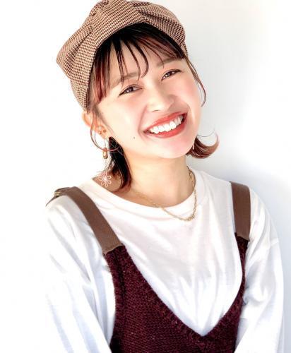 原宿本店 4年目スタイリスト 横沢里香