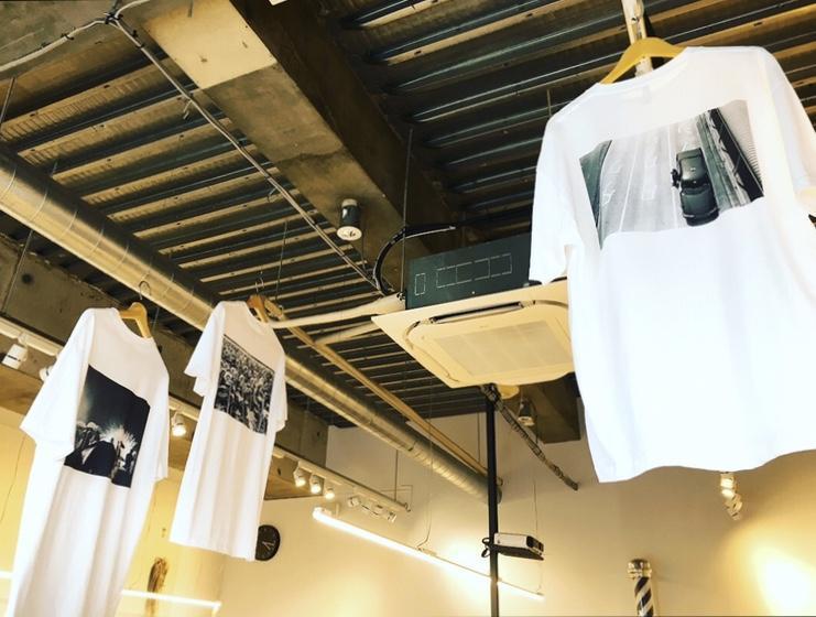 オリジナルTシャツも作っています