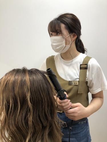 2020春入社 山本 彩水 ヴェールルージュ卒業生