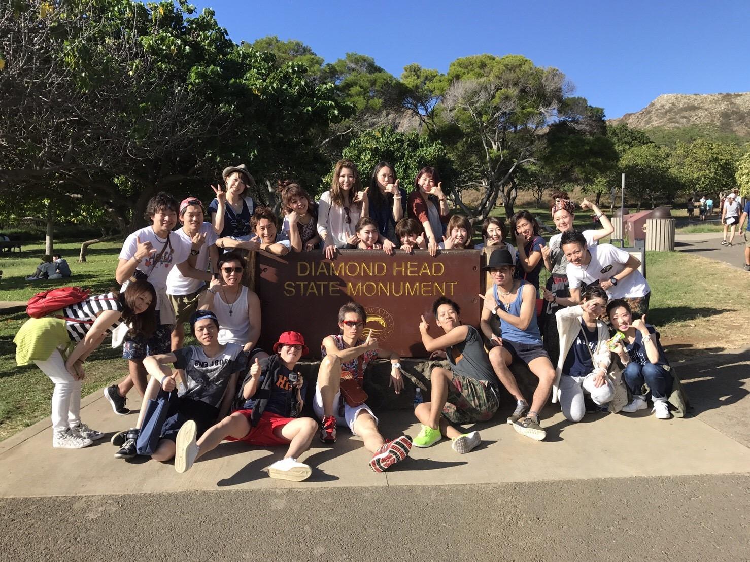 社員旅行ハワイに行った時の写真です。