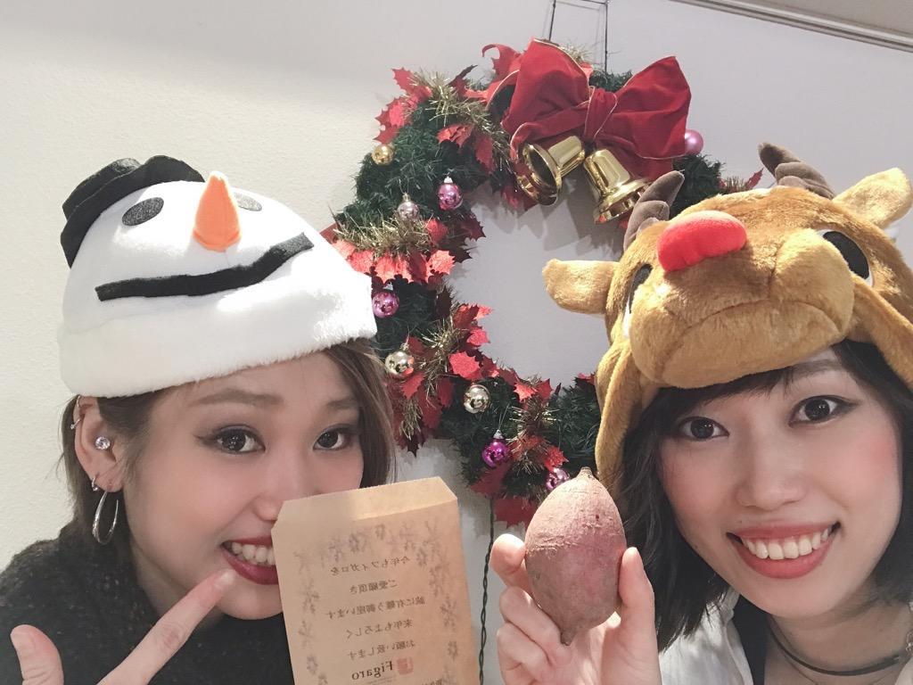 クリスマスにはかぶり物(^^)