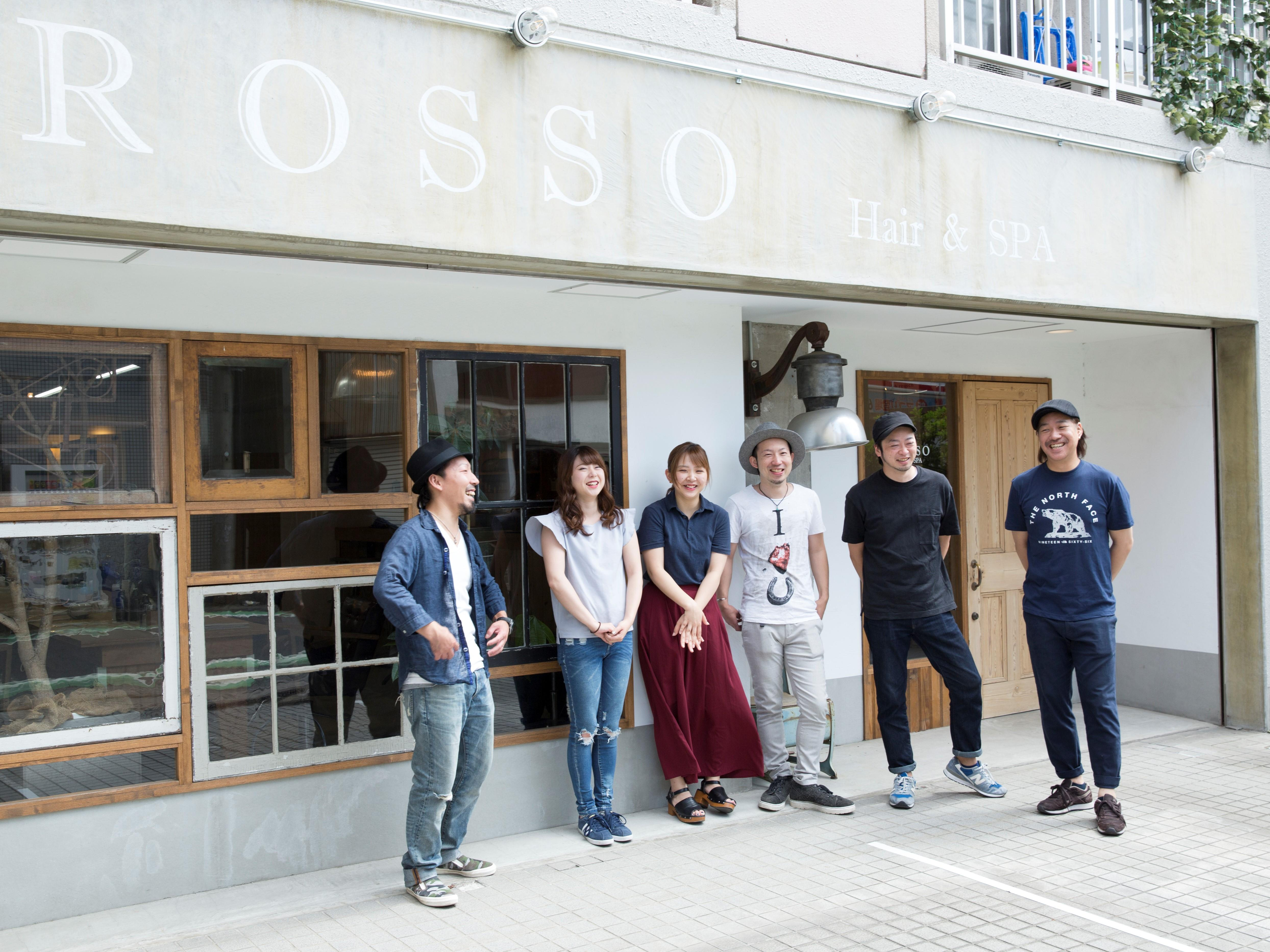 Rosso Hair&SPA 獨協大学前店★アシスタント