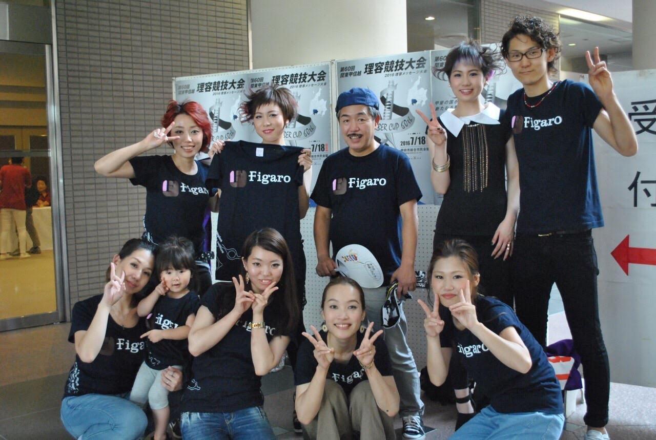 東京代表でコンテストに出場。スタッフ集合写真