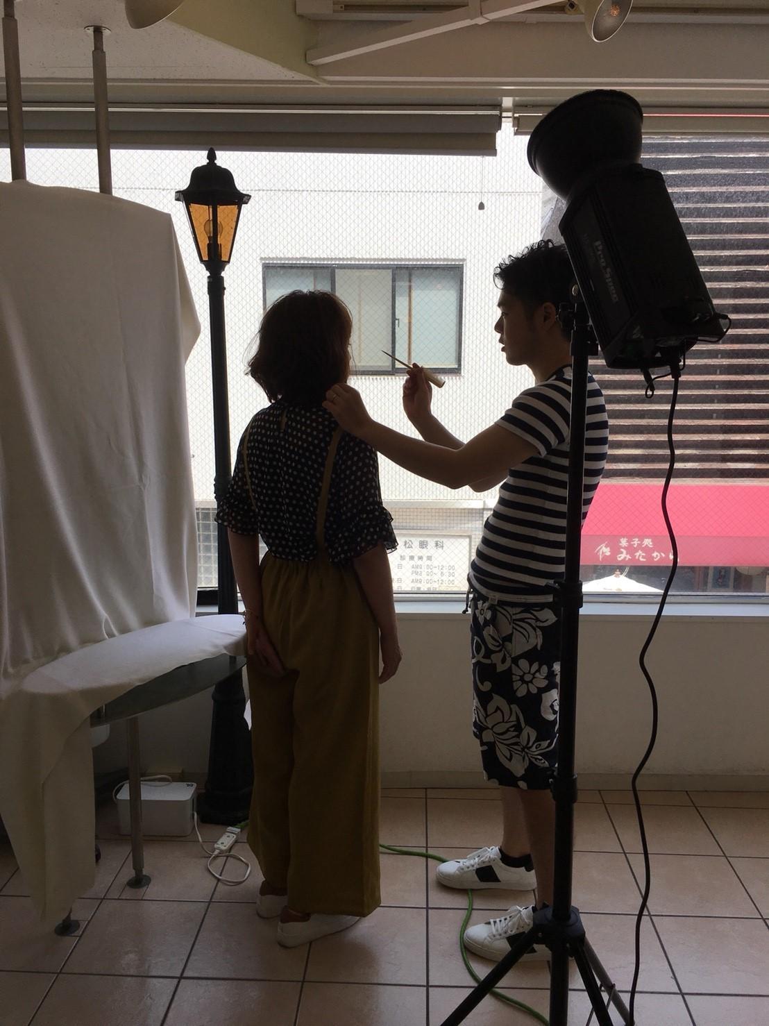 定期的に行われる撮影会、作品撮りも勉強になります