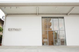 KEYMAN / 外観 , 既存の倉庫をリノベーションした店舗