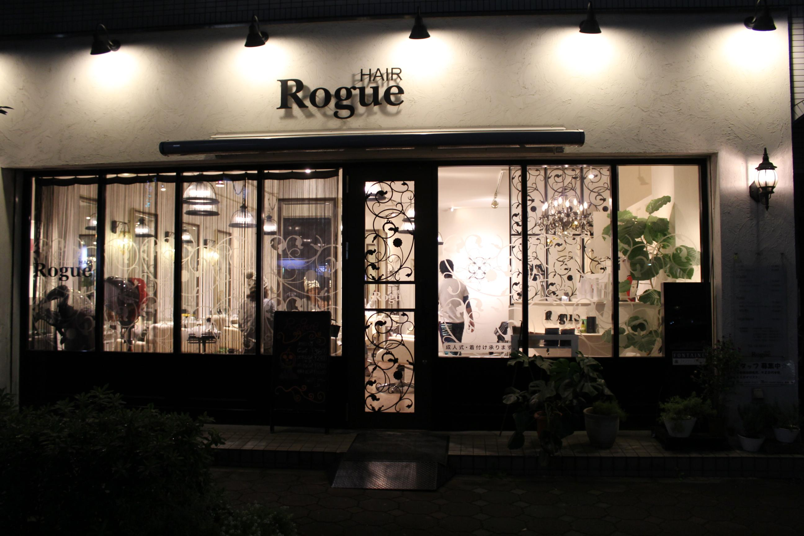 Rogue HAIR 綾瀬店☆アシスタント募集
