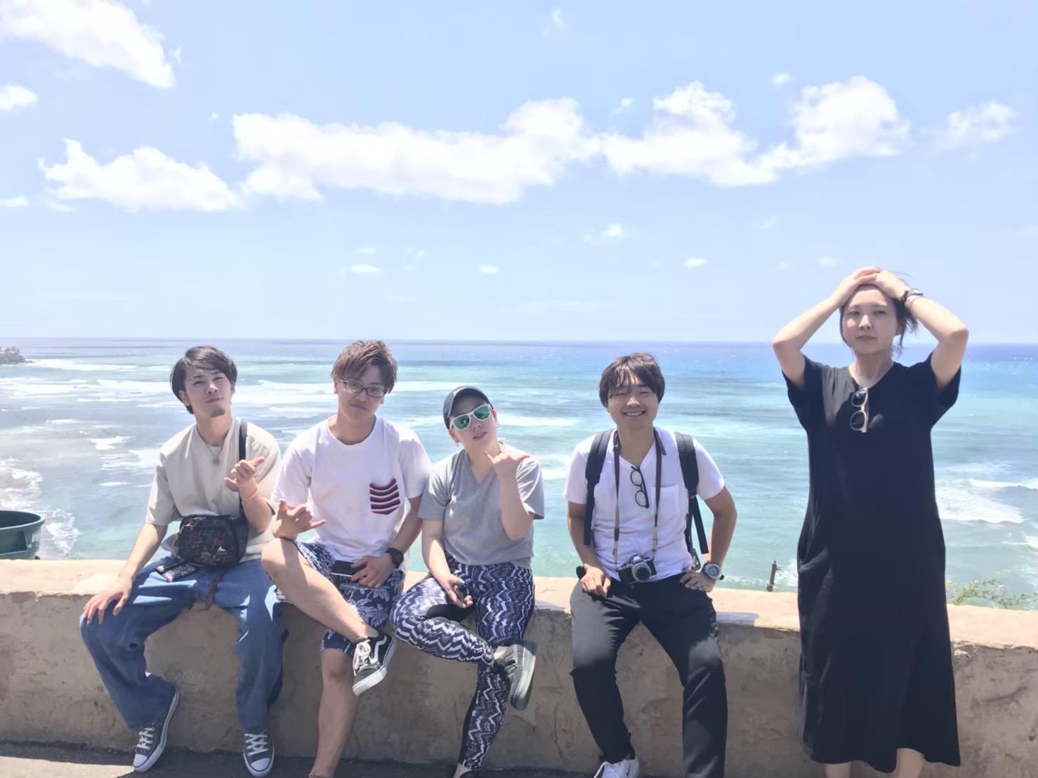 福利厚生でいけるハワイ旅行の写真です