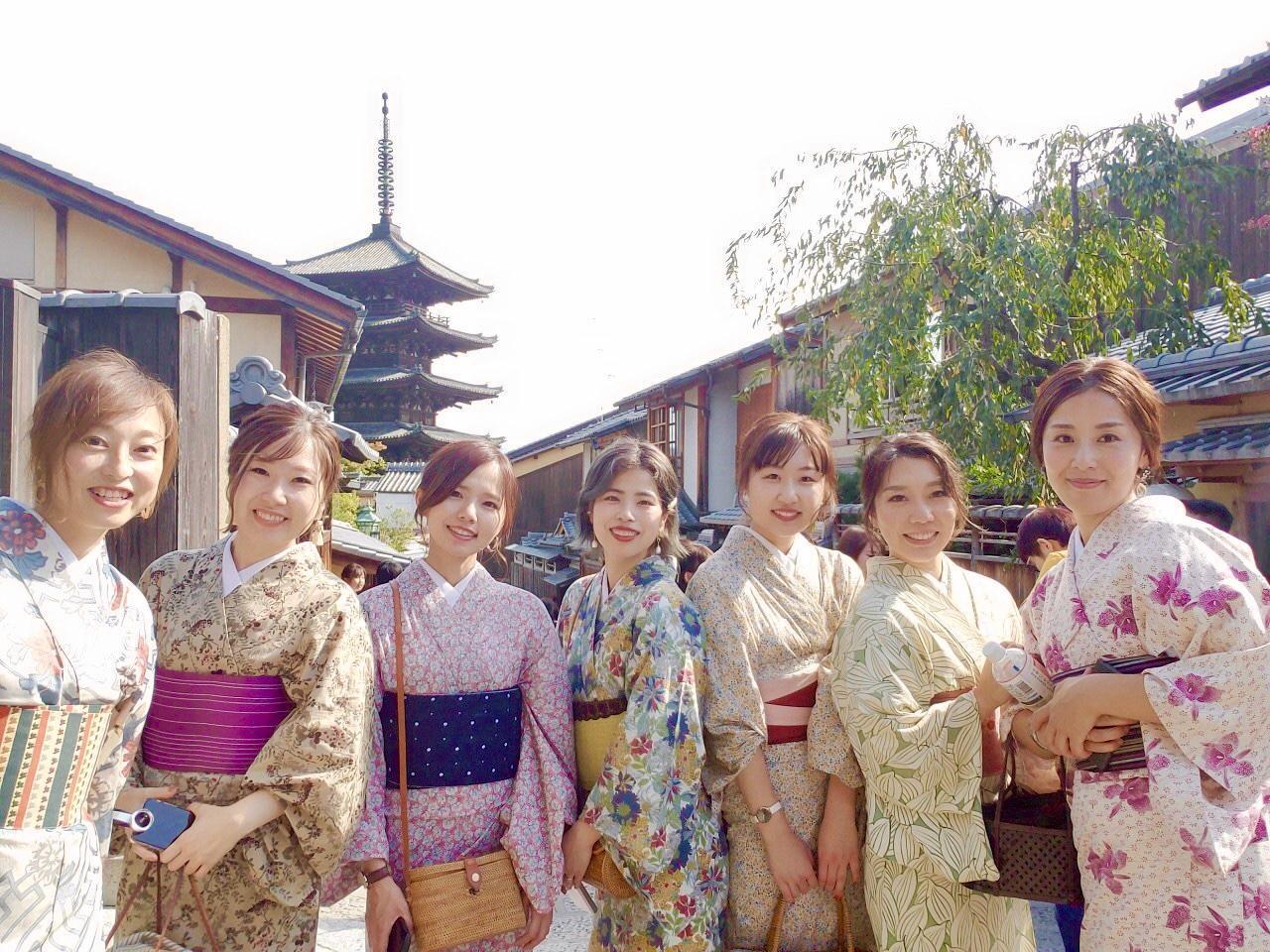 10周年で記念の京都旅行の様子です。
