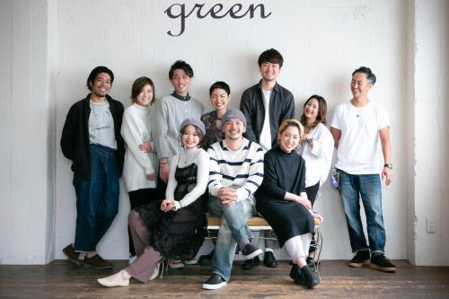 green*アシスタント募集