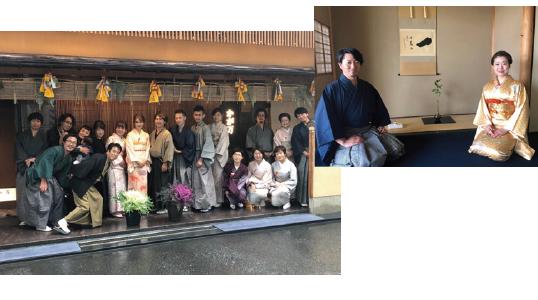 他の美容室にはない、日本の文化【茶道】に触れ、本物のおもてなしを体感