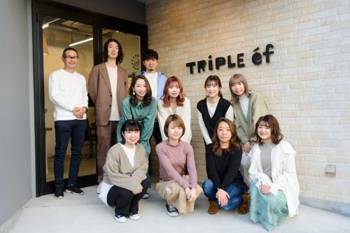 株式会社TRIPLE-ef 各手当&待遇がとにかく充実☆