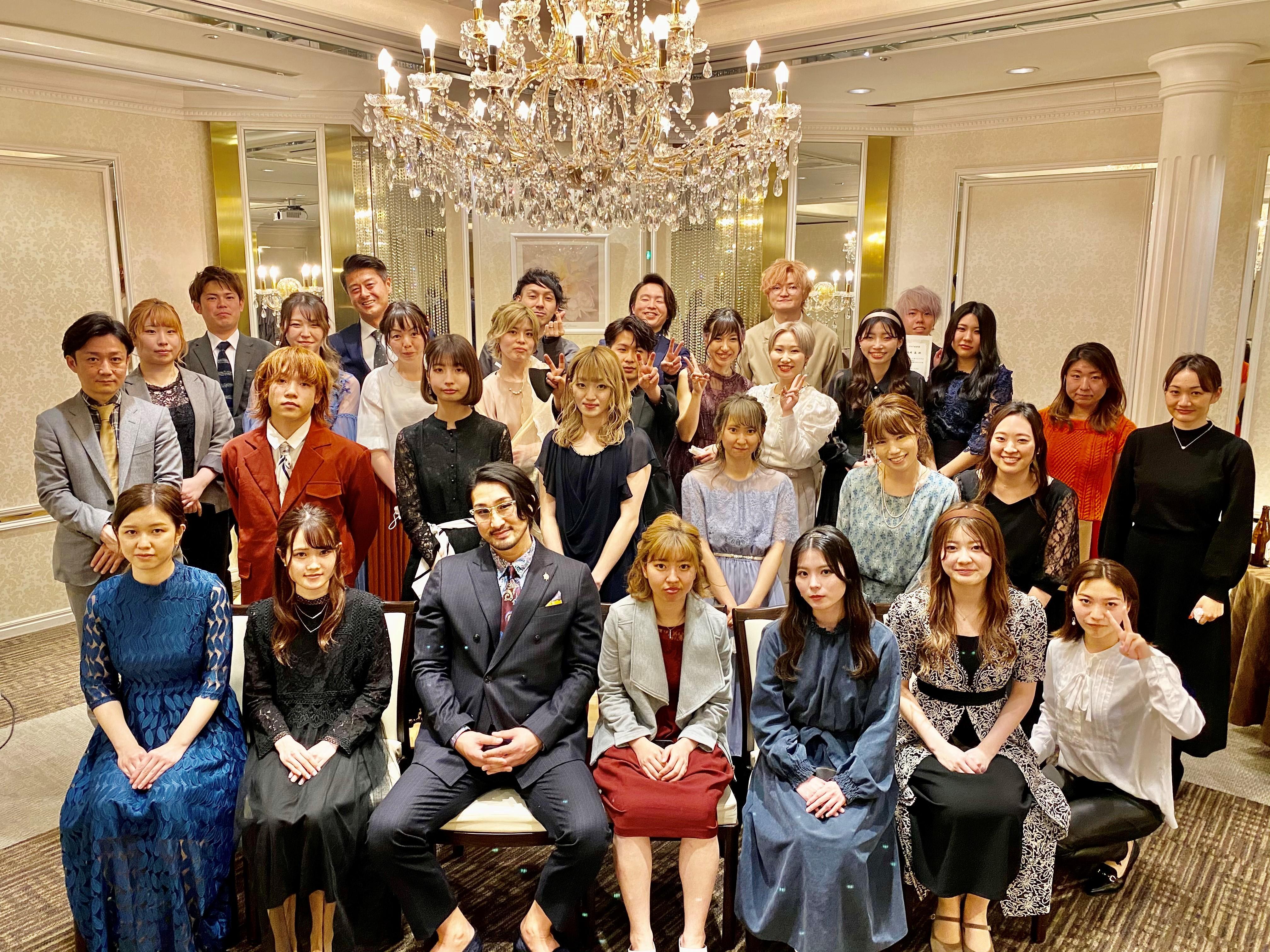 株式会社アヤラ2021年度新入社員入社式展