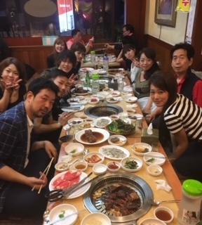海外旅行で韓国に行った写真です。