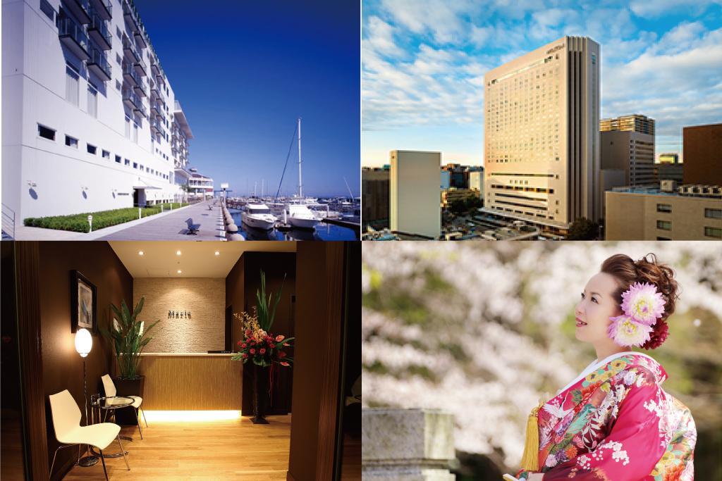 熱田神宮店、名古屋ヒルトン店、ホテルアークリッシュ店、福岡マリノアリゾート店