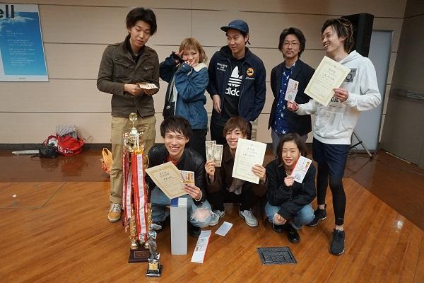 コンテストにて7賞中 6賞獲得