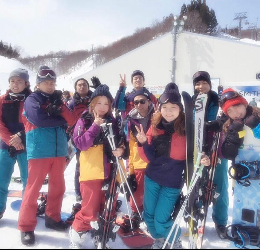 みんなでスキーに行きました♪