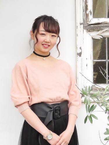 伊藤留依(名古屋美容専門学校)2018年度入社