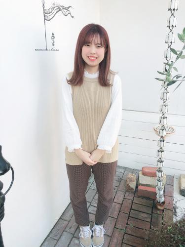 横畑成美(中部美容専門学校)2020年度入社