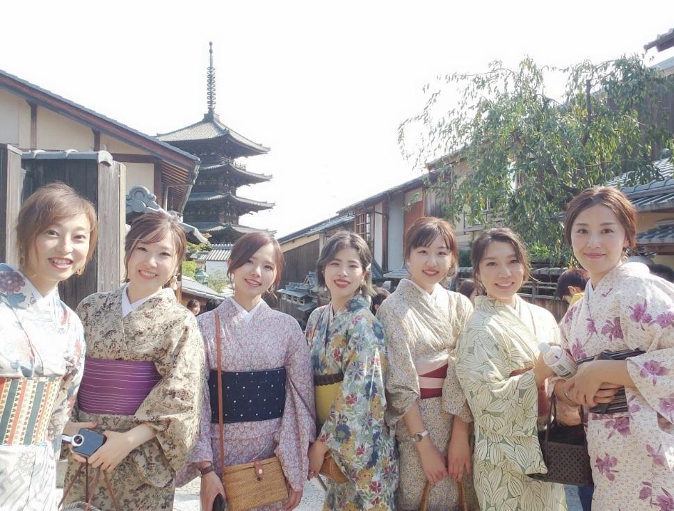 京都旅行の時の様子です。