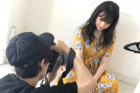 店内に撮影スタジオあります♪サロンモデルとの撮影が楽しめる♪