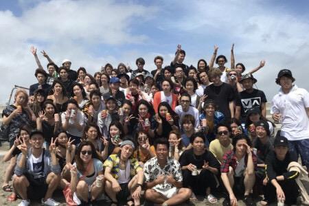 社員旅行♪青森や沖縄などの東京以外の出身者も多数です♪