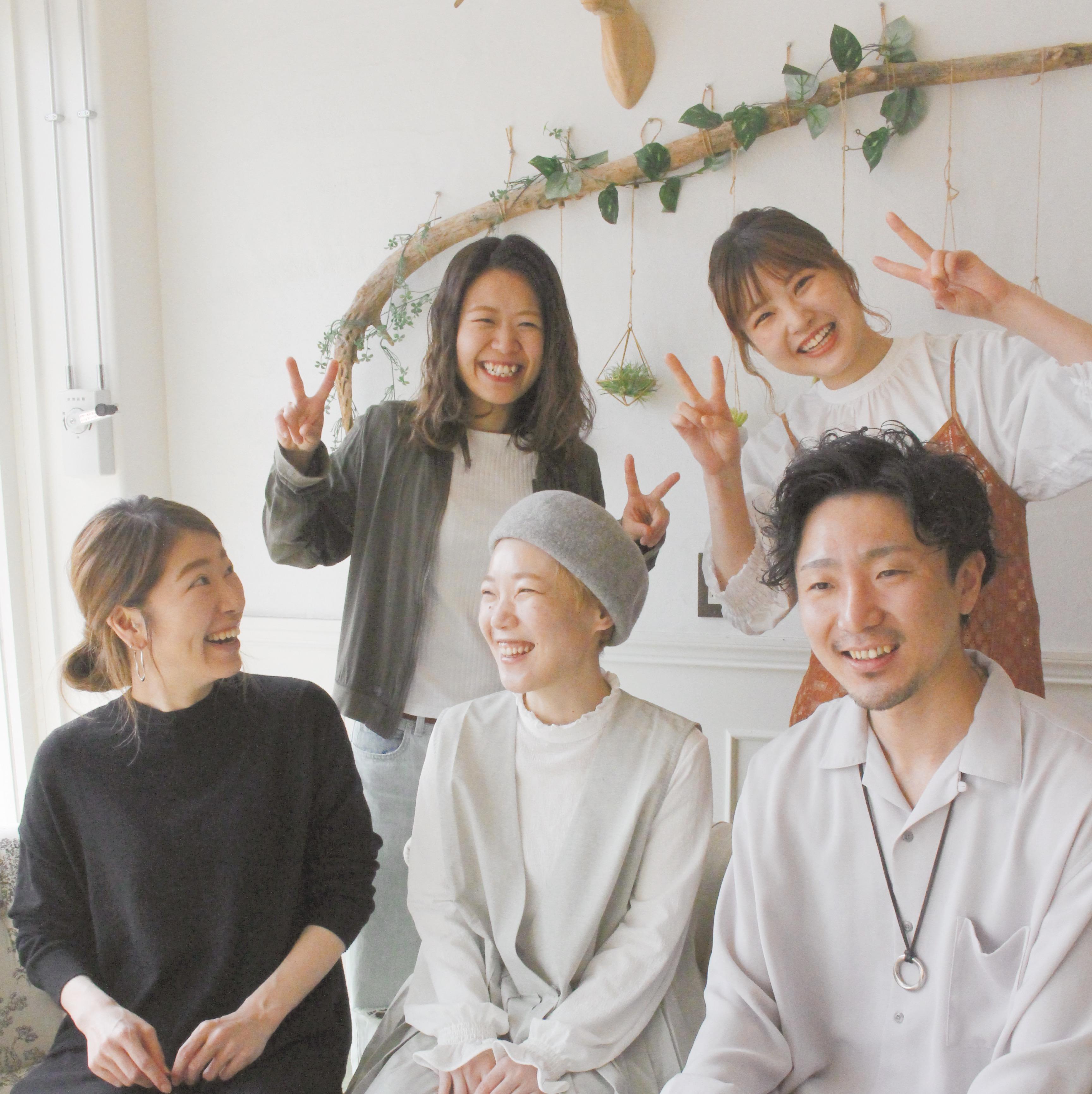 utata店スタッフ写真