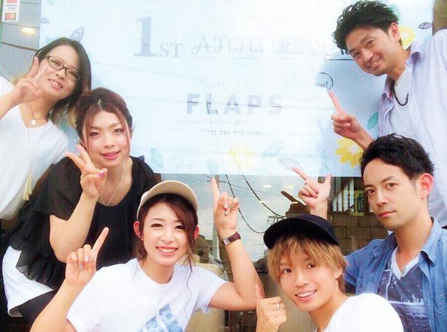 HAIR&SPA FLAPS☆アシスタント募集